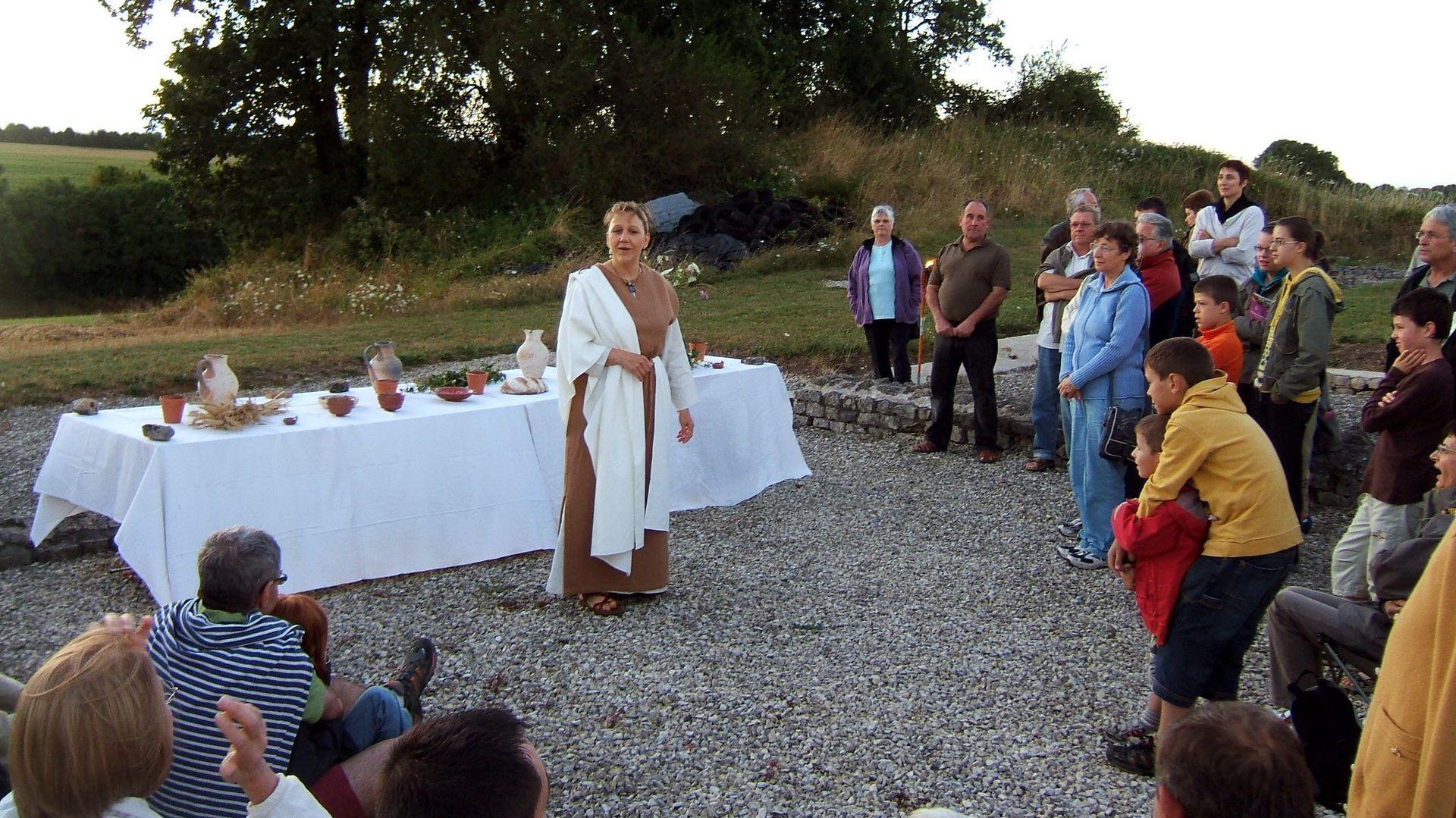 spectacles autour de la mythologie le 7 mars à juliobona, musée gallo-romain de Lillebonne