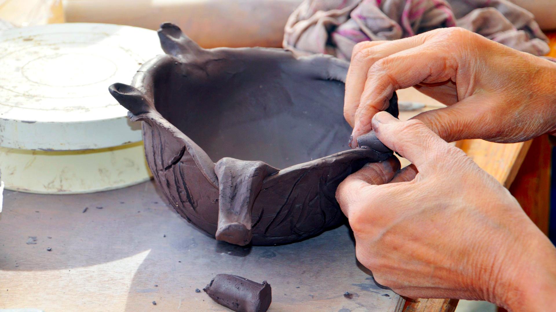Atelier dans la peau d'un sculpteur romain