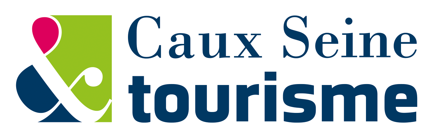 Logo office de tourisme Caux Seine tourisme